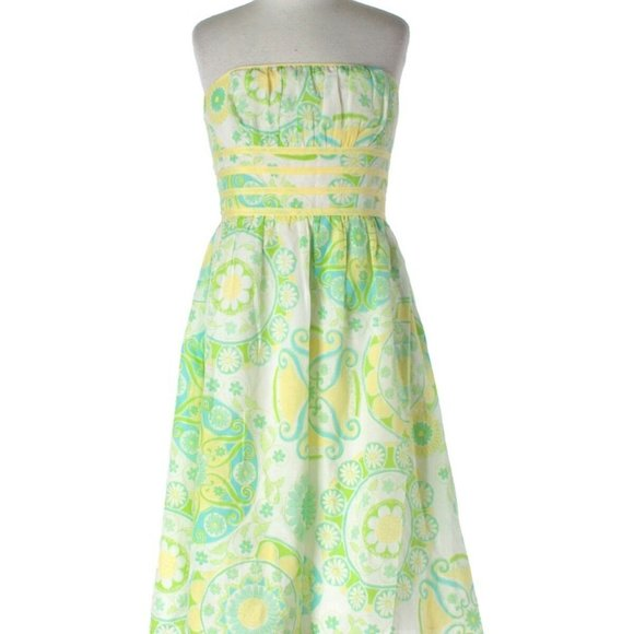 Lilly Pulitzer Fountain of youth Dress silk C4